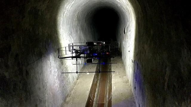 ARSI (Aerial Robot for Sewer Inspection)